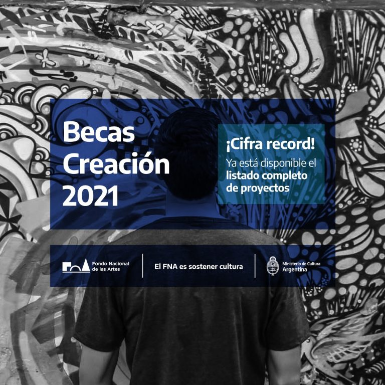 26 PROYECTOS CHUBUTENSES INDIVIDUALES Y 11 GRUPALES, FUERONSELECCIONADOS PARA RECIBIR LA BECA CREACIÓN 2021